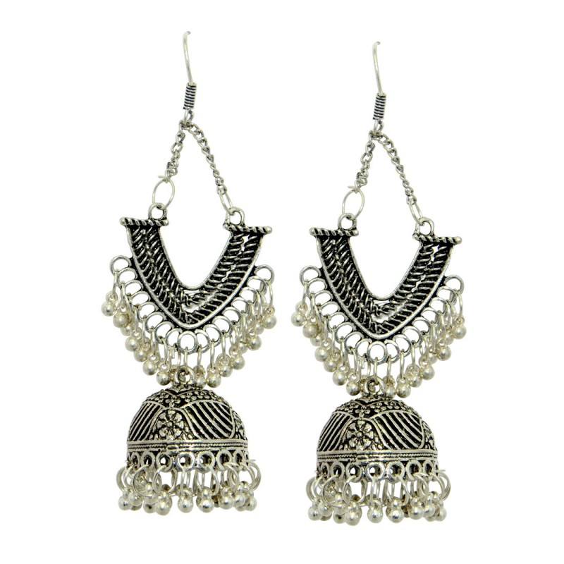 Beautiful Oxidised Earrings For Women and Girls