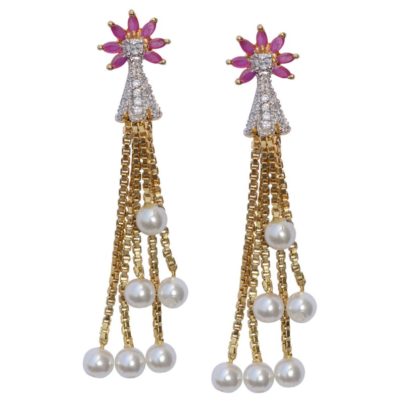 Designer Long Dangler Earrings