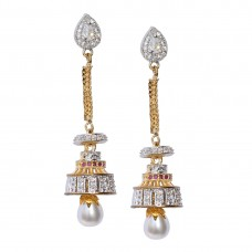 Gold Plated Dangler and Drop Earrings