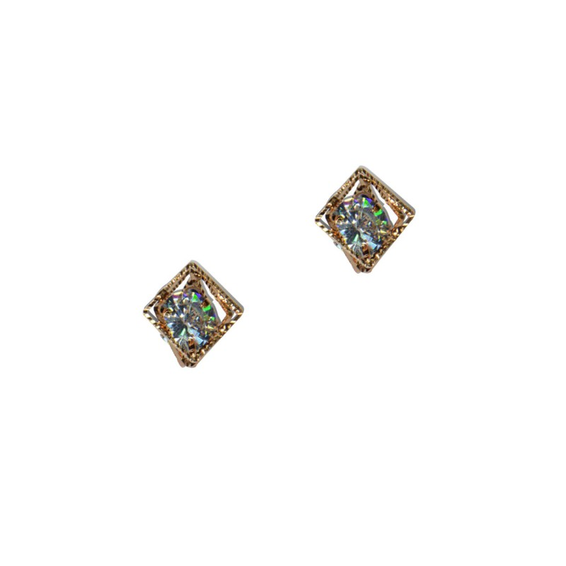 Designer Square Stud Earrings