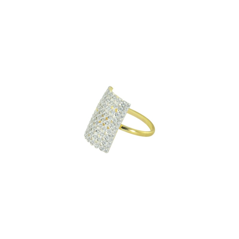 Designer Gold Plated AD RING