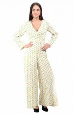 Printed Women's Jumpsuit By Shipgig