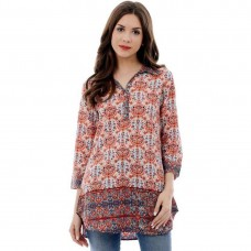 Casual Printed Women's Kurti  By Shipgig