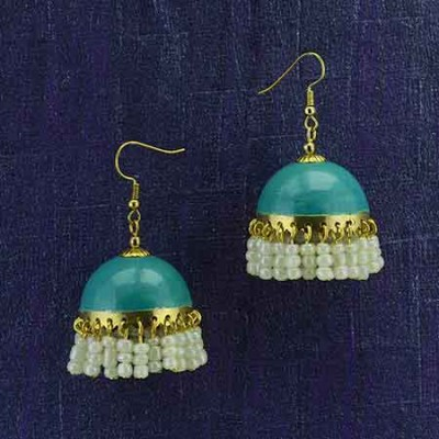 Gold Plated Bali With Shinny Pearls