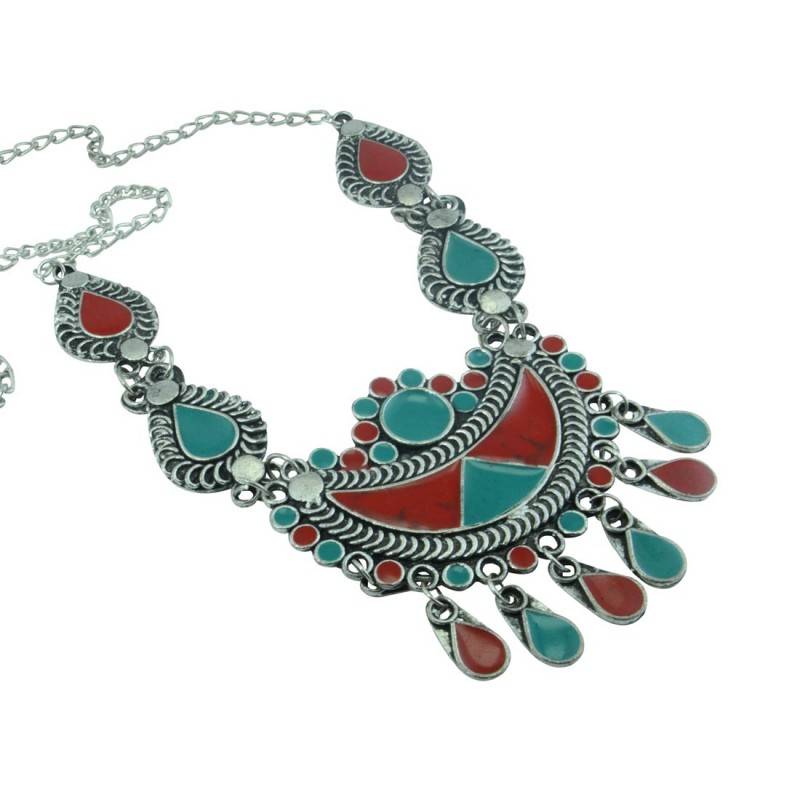 Designer Multicolor Neckpiece For Women