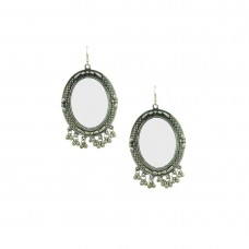 Silver Plated Mirror Dangler