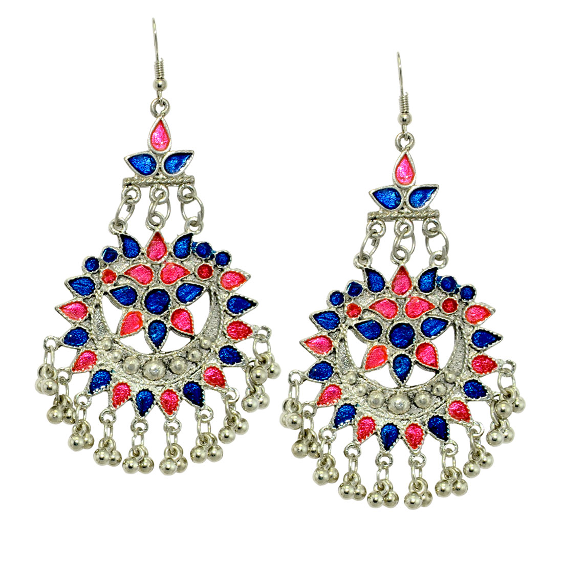 Oxidized Chandbali Earrings Pair For Girls And Women