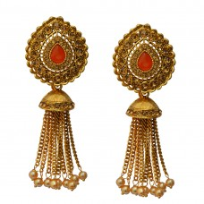 Designer Gold Plated Earrings For Women and Girls