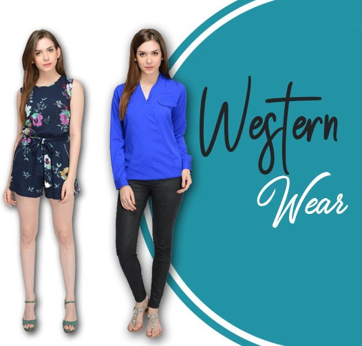 Western Wear, dresses, tops, bottom wear