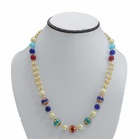 Pearls Beaded Necklace For Women