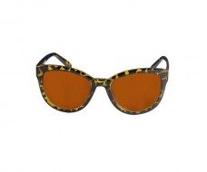 Stylish Cat Eye Sunglasses In Animal Print