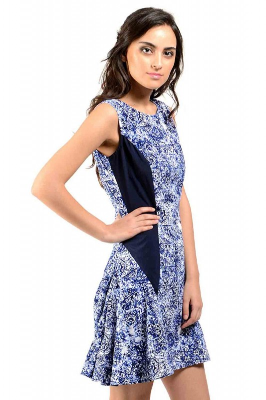Classy Blue Dress For Women By Shipgig