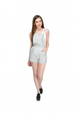 Solid Women's Jumpsuit By Shipgig