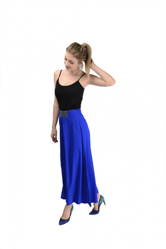 Royal Blue Palazzo For Women By Shipgig