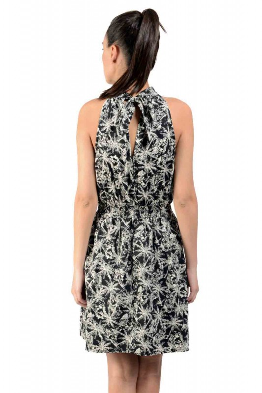Printed Black Dress By Shipgig