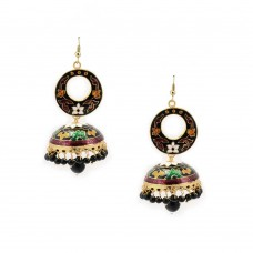 Designer Hand Crafted Earrings ln Multicolour
