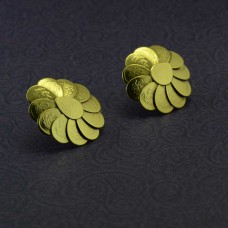Beautiful Flower Studded Designer Earrings