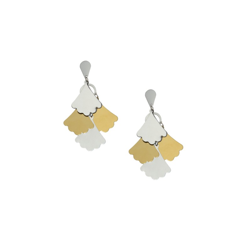 Designer Gold And Silver Plated  Dangler