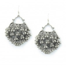 Beautiful Fully Silver Plated Designer Earrings
