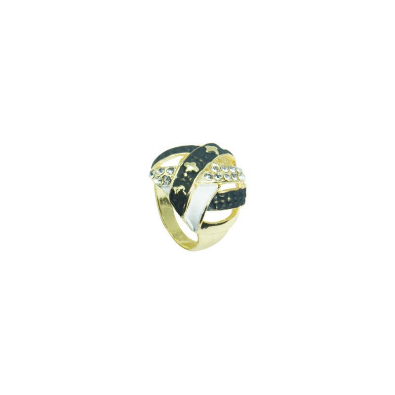 Stylish Ring For Women In Black Color