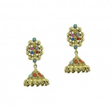 Designer Jhumki With Multiple Kundan