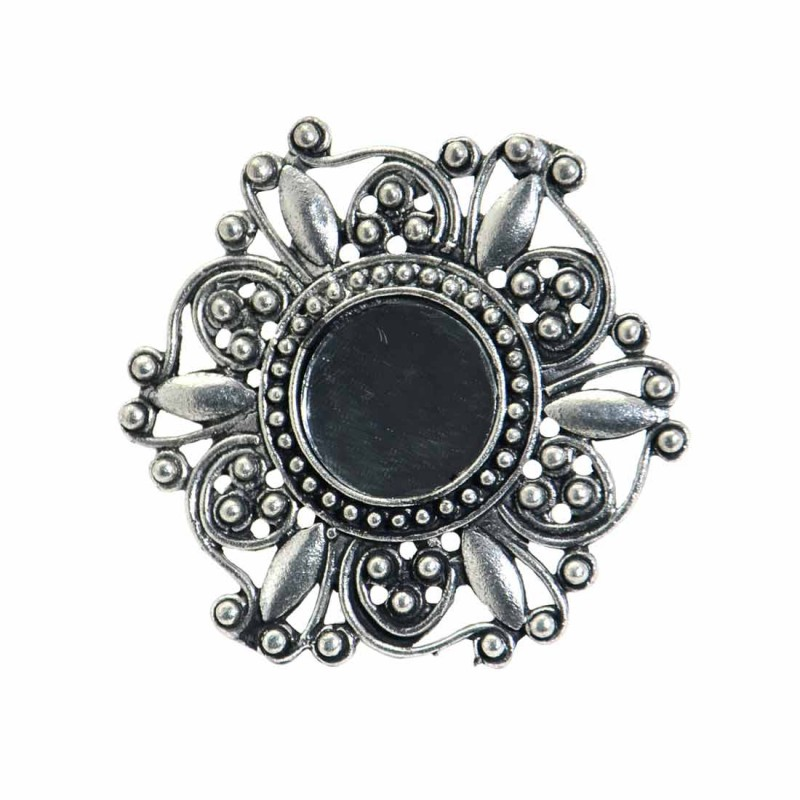 Oxidized Finger Ring For Women