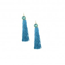 Designer Thread Dangler In Sky Blue