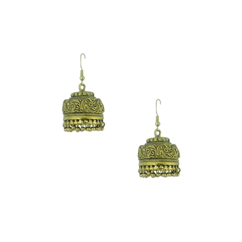 Gold Plated Jhumki Earring