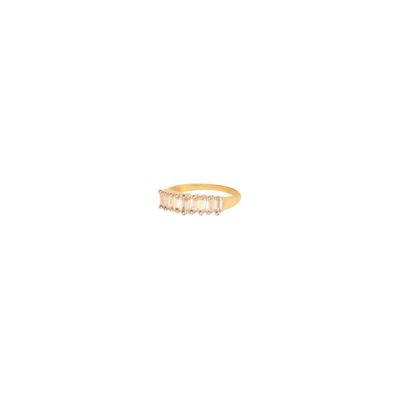 Gold Plated AD Ring For Women