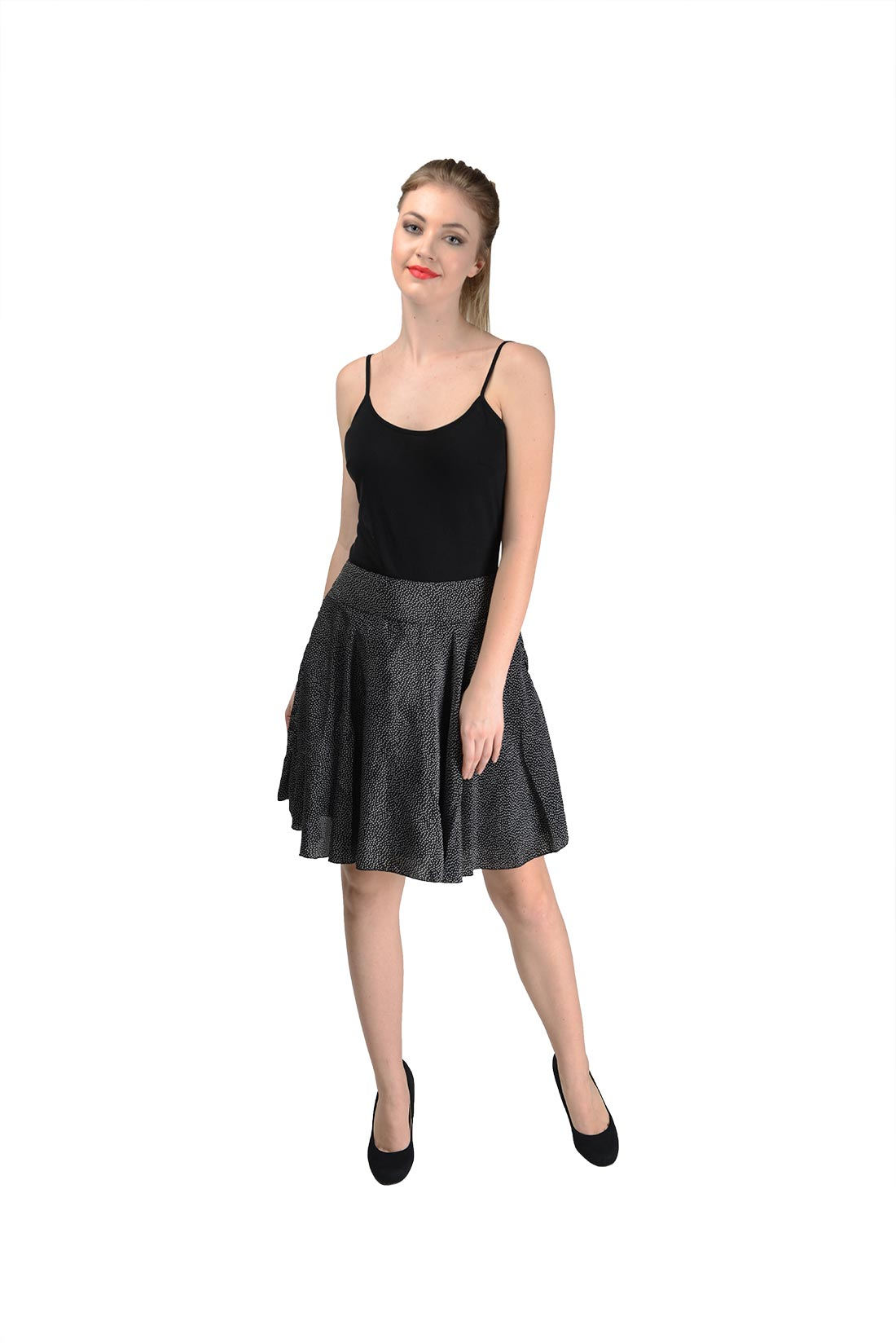 Black Short Skirt For Women By Shipgig